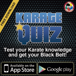 Karate Quiz: the new WKF Official application. Play, enjoy and learn about #Karate!